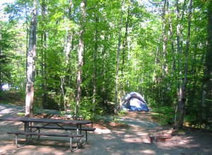camping the white mountains of nh hancock campground. Black Bedroom Furniture Sets. Home Design Ideas