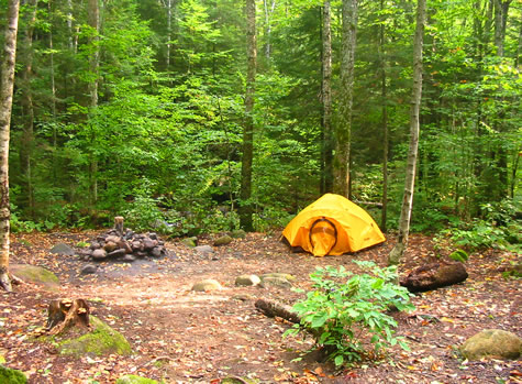 Camping the white mountains of nh tripoli road for Cabin camping new hampshire